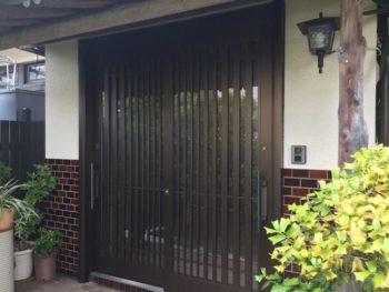 玄関ドア取替え工事事例
