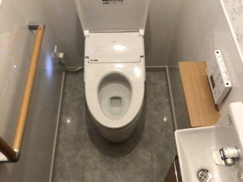 トイレリフォーム・下水切替工事事例