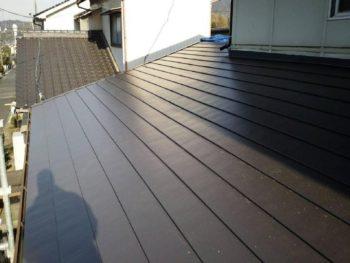施工事例 屋根の葺き替えリフォーム工事