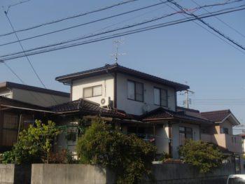 施工事例 屋根の瓦葺き替えリフォーム工事