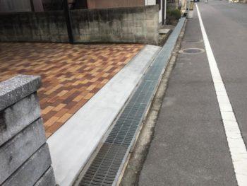 施工事例 駐車場土間の修理リフォーム工事