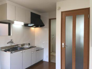 アパート内装リフォーム工事事例