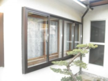 施工事例 【防犯対策】外窓の設置リフォーム工事