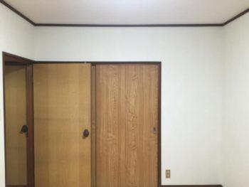 施工事例 洋室の天井・壁のクロス貼り替え工事