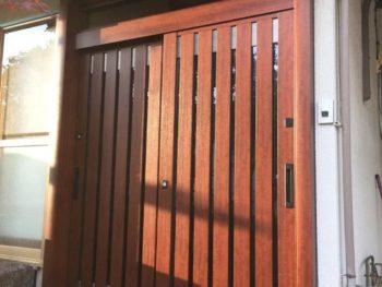 施工事例 玄関ドア取替リフォーム工事
