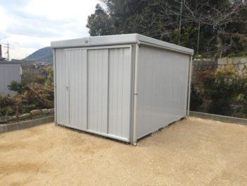 施工事例 物置の解体・新設リフォーム工事