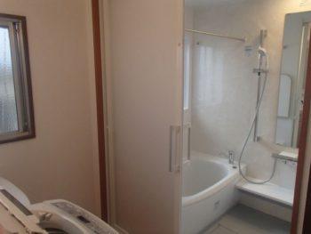 施工事例 ユニットバス・洗面脱衣室のリフォーム工事