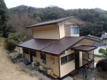施工事例 外壁塗装・屋根カバー工法・ベランダリフォーム工事