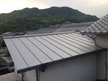 施工事例 屋根カバー交換リフォーム工事
