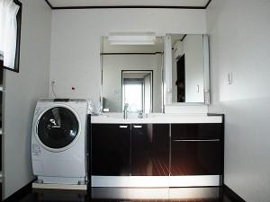 施工事例 洗面所改装リフォーム工事