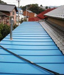 施工事例 【雨漏り防止】屋根の張替えリフォーム工事