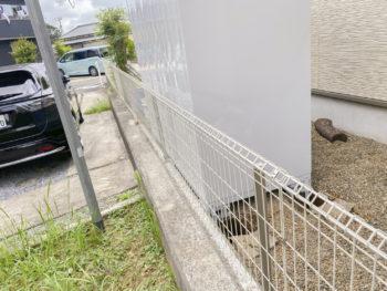 印旛郡酒々井町 S様邸 フェンス交換リフォーム事例