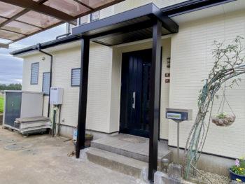 成田市 S様邸 玄関前リフォーム事例