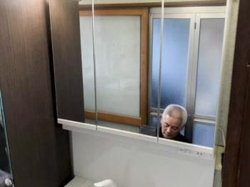 富里市 K様邸 洗面化粧台リフォーム事例